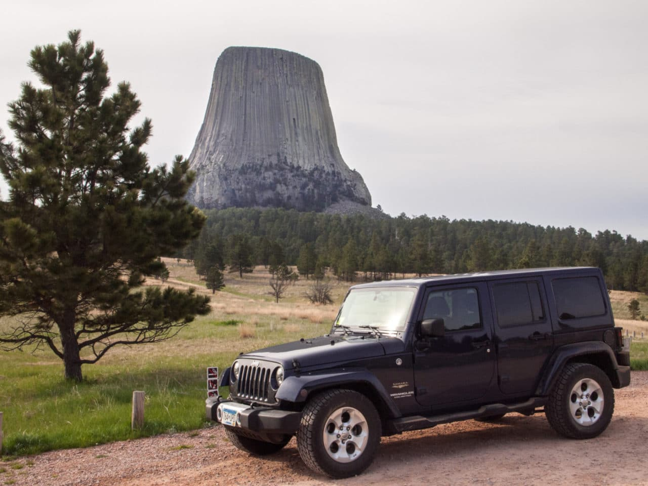 Under the Devils Tower