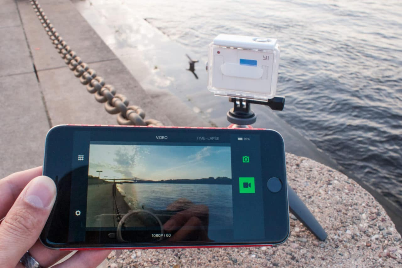 Yi Action Cam Wireless Viewfinder