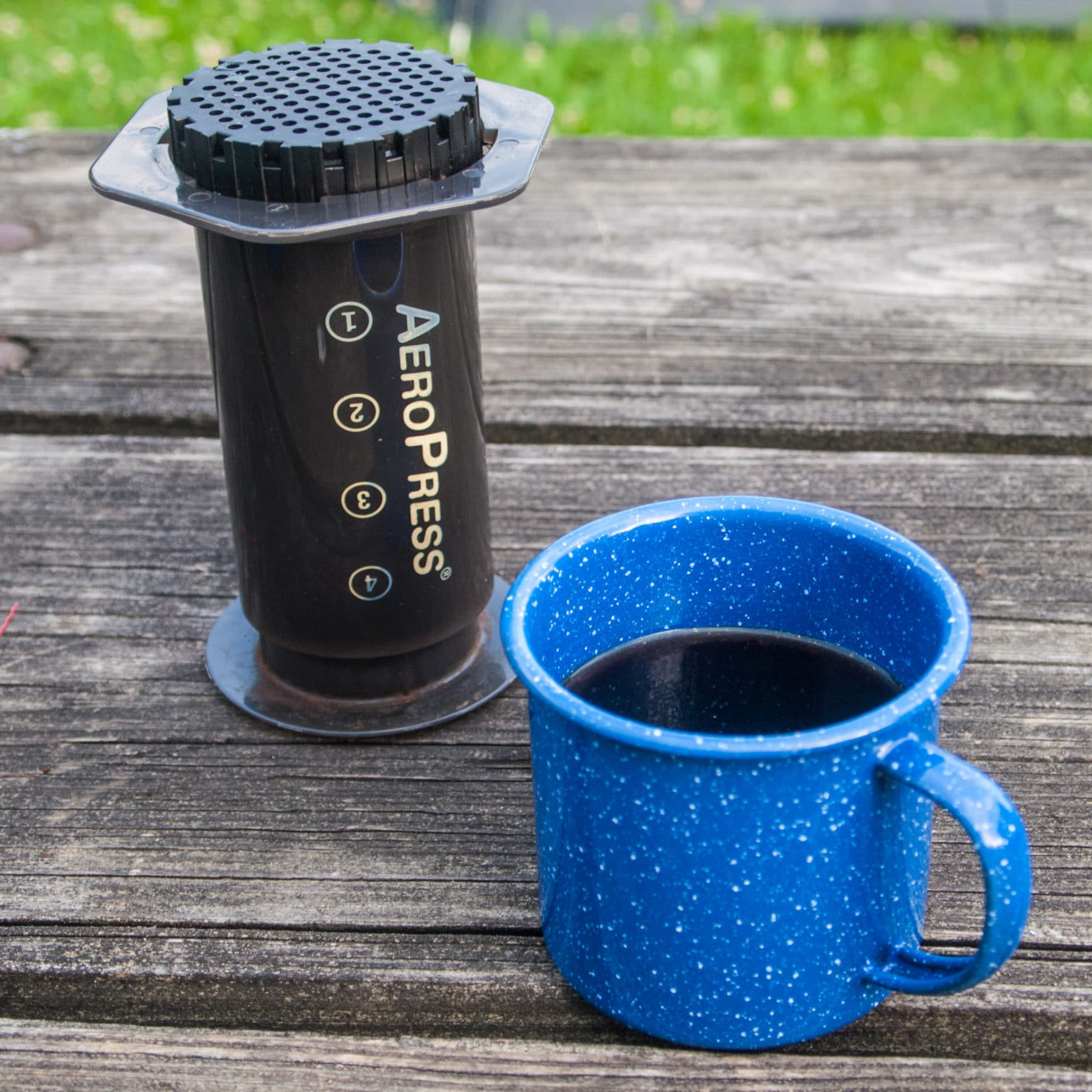Why the Aeropress is the best campsite coffee maker you can buy