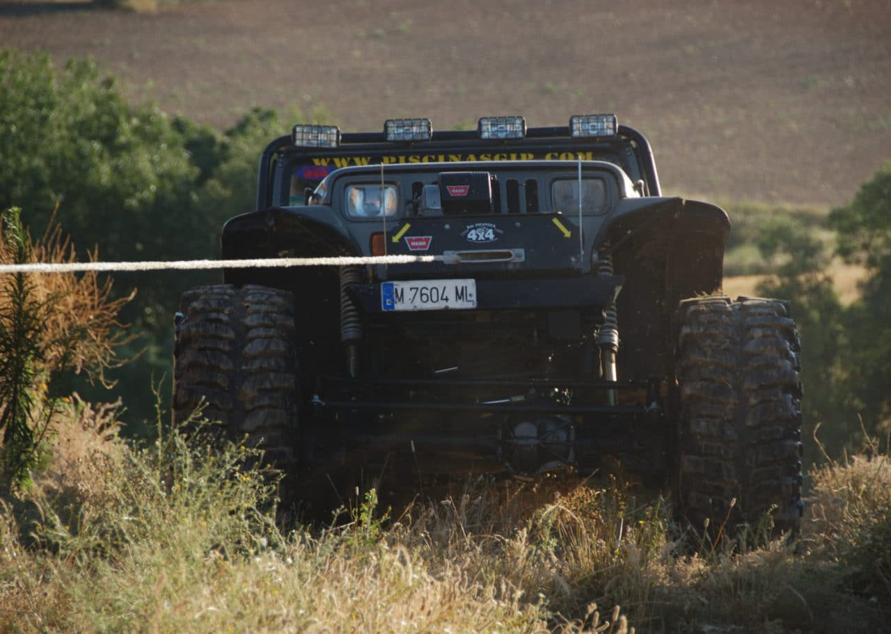 A solid bumper provides a stable mounting point for a winch or driving lights. Photo Credit: Raúl A.-