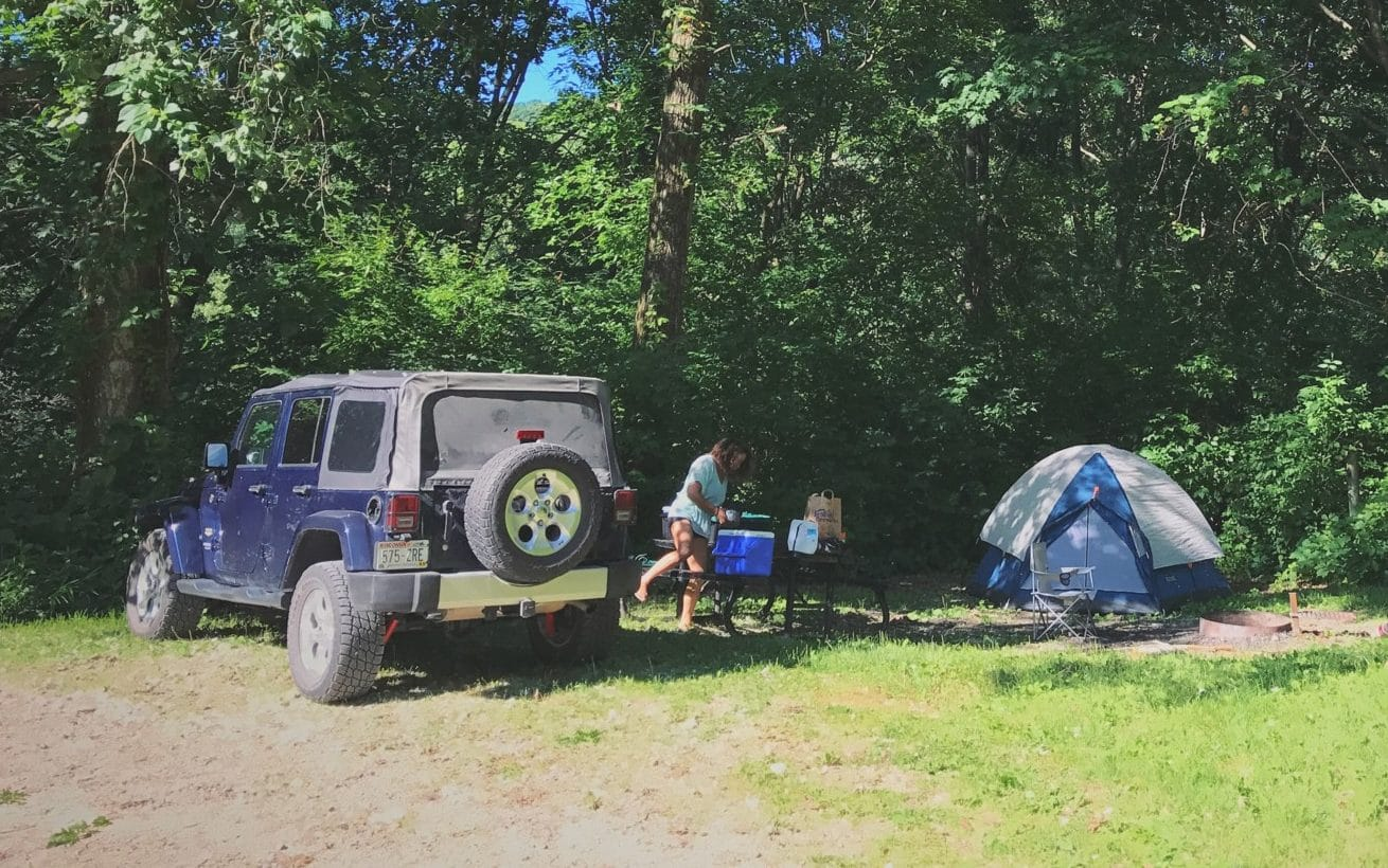 The shakedown approach to camping prep