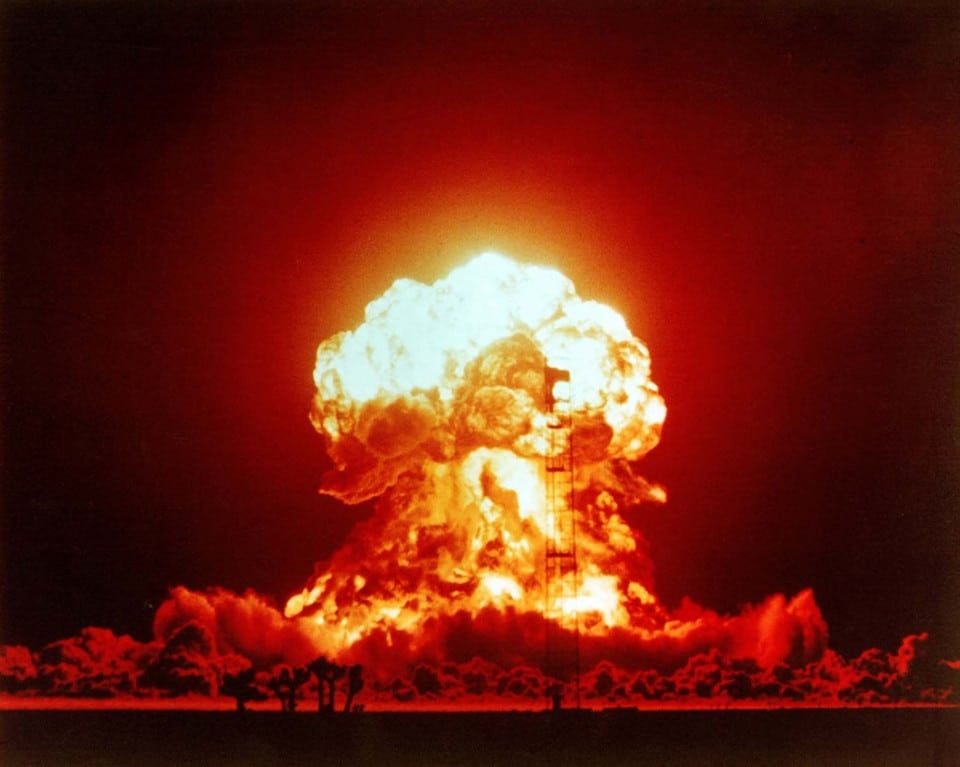 Image of nuclear blast