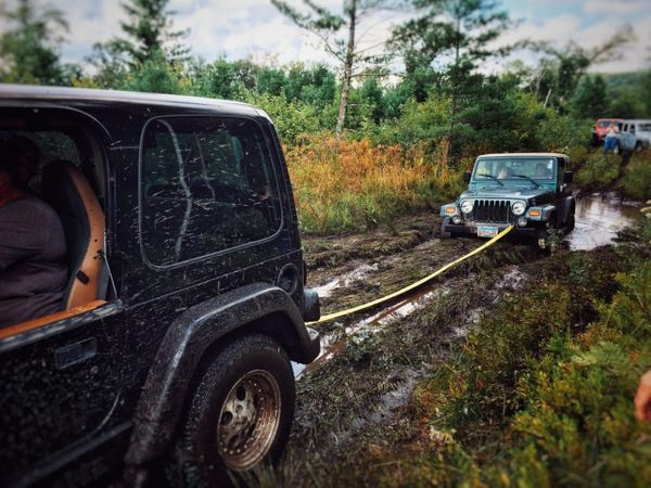 Lessons learned in off-road recovery