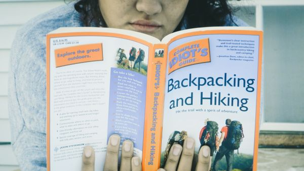 What I'm reading in 2018 - The Complete Idiots Guide to Backpacking and Hiking